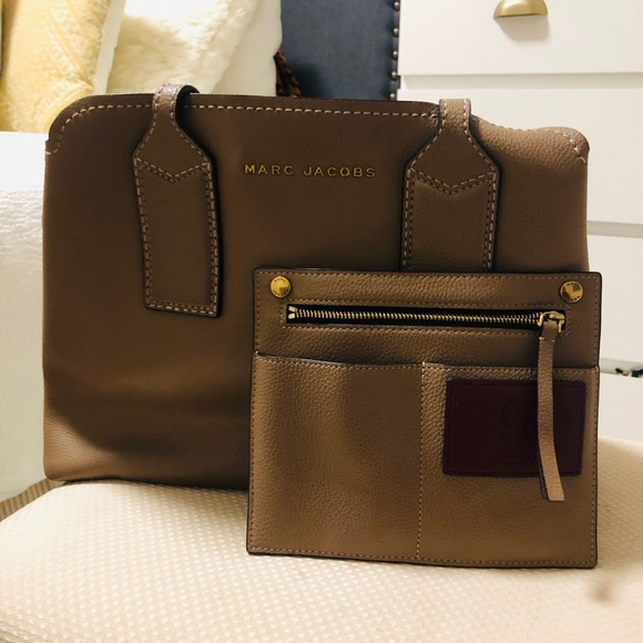 """9672589f41f Marc Jacobs """"the editor"""" leather tote"""